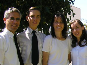 Paúl family in 2005.