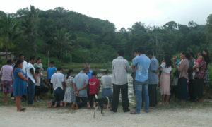 Prayer for those baptized