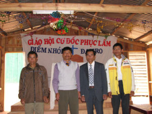 Some of the workers in the remote areas of Vietnam