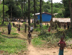 New church and school in Congo