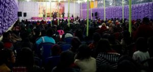 Camp meeting in India